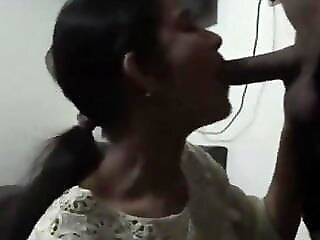 Xnxx Desi Girl Gives Blowjob With an increment of Has Doggystyle Sex at Night blowjob xvideos